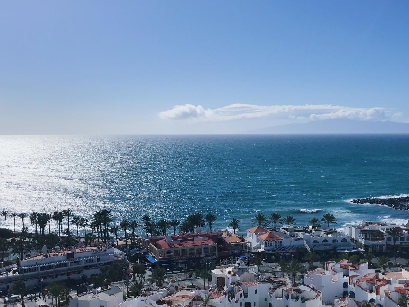 Tenerife Playa Las Americas apartman óceáni kilátással